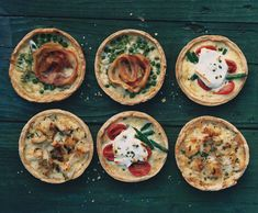 Savory Summer Tarts Recipe  at Epicurious.com