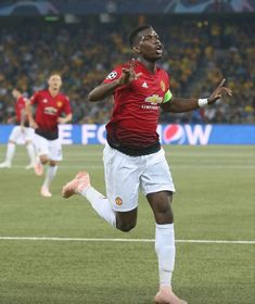 Pogba scores two goals vs Young Boys, Champions League, Paul Pogba, Gareth Bale, Man United, Uefa Champions League, Young Boys, Lionel Messi, Cristiano Ronaldo, Football Players, Manchester United