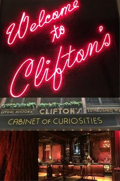 Clifton's Cafeteria is one of the most unique places to eat in Los Angeles California