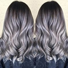 Gorgeous #KenraColor #MetallicObsession by Nancy Pham!