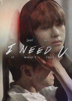 BTS | V i need u