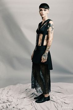 The reason for the short 'do! Ruby Rose has admitted in a new interview with Byrdie magazine that her hair used to fall out in clumps because she dyed it too much