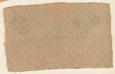 Fragment Date: late 16th century Culture: Italian Medium: Silk, metal thread Dimensions: Overall: 18 5/8 x 11 3/8 in. (47.3 x 28.9 cm) Classification: Textiles-Woven Credit Line: Gift of Nanette B. Kelekian, in honor of Olga Raggio, 2002 Accession Number: 2002.494.212