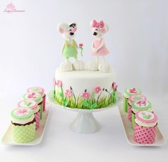 Diddle- and Diddlina-mouse Cake