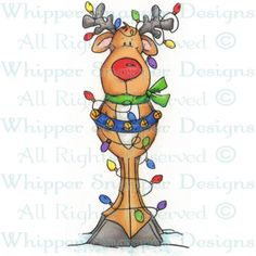 Wrapped Up Reindeer