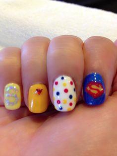 Superman nail