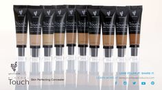 Touch Mineral Skin-Perfecting Concealer.  Awesome coverage from blemishes to tattoo cover up!