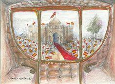 Boda real, fiesta taurina... de Carmen Romero