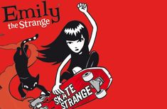 If you buy your clothes from Hot Topic, chances are your a fan of Emily the Strange. Well Emily has now gone back to her roots and has once again picked up her skateboard in the brand new PC game Emily the Strange: Skate Strange, available now!