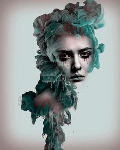 Cried Out. on Behance | Lucy Dyer #art #graphicdesign