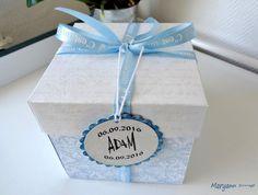Boite cadeau pour l'arrivée d'ADAM, mon arrière-petit neveu. Détail sur le blog. Bonne visite...
