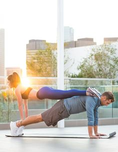 Sweat Together: Couples Workout | You & Lu