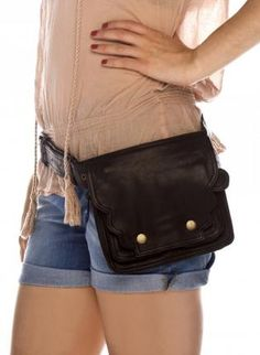 A cool hip purse/bag like Fiona from Burn Notice. I want one.