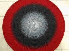 Round rug, 45'' (112 cm)/Rugs/Rug/Area Rugs/Floor Rugs/Large Rugs/Handmade Rug/Carpet/Wool Rug by AnuszkaDesign on Etsy