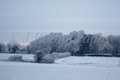 Snow full landscape images, British weather Photography Bedfordshire