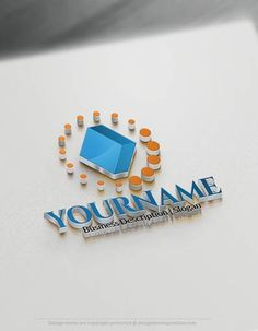 Design Free Logo: 3D Diamond Online Logo Templates