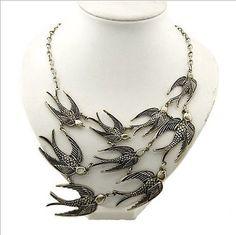 Swallow Necklace. päris eestipärane ehe :).