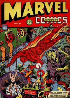 Marvel Mystery Comics (Volume) - Comic Vine