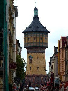 Der Wasserturm Nord in Halle