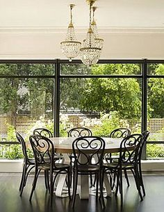 classic bentwood chairsyou can paint them a glossy black and then theyre not so classic black bentwood chairs