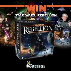 Win Star Wars: Rebellion @DiceBoxAU