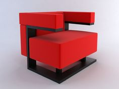Walter Gropius, F51 Chair, manufactured in 1920.