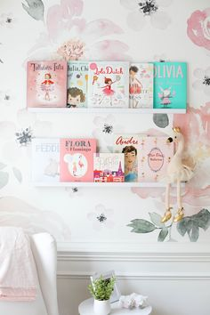 Baby Emma's Nursery Reveal - Eat Yourself Skinny Paris Nursery, Nursery Room, Girl Nursery, Ballerina Nursery, Boho Nursery, Floral Nursery, Nursery Neutral, Nursery Themes, Nursery Decor