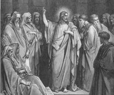 """September 20th - Luke 8:19-21: The mother of Jesus and his brothers came to him but were unable to join him because of the crowd. He was told, """"Your mother and your brothers are standing outside and they wish to see you."""" He said to them in reply, """"My mother and my brothers are those who hear the word of God and act on it."""""""