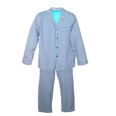 Robert Graham Men's Illusion Long Sleeve Long Leg Pajama Set