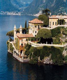 Villa del Balbianello, on Lake Como, Italy