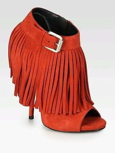 BRAND-NEW-GIUSEPPE-ZANOTTI-RED-SUEDE-FRINGE-BOOTIES-SANDALS-EU-39-5-UK6-5-US-8-5