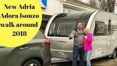 New Adria Adora Isonzo 2018 Walk around Caravan Reviews, Tiny Trailers, Royalty Free Music, Walking, Homes, Cars, Architecture, Garden, Diy