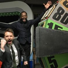 OF COURSE Strand would hit $1.00 the first time he spun the @therealpriceisright wheel. Colman Domingo is fantastic on @feartwd and even better in real life! @amctalkingdead by hardwick