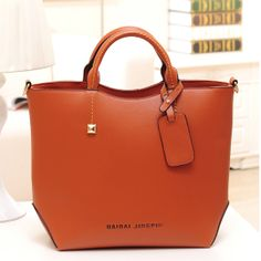 stacy bag hot sale women leather handbag female large totes office lady briefcase business bag top-handles shoulder bags $15.00