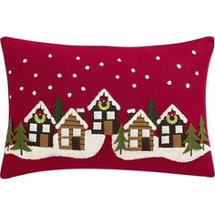 """Winter Solstice 24""""x16"""" Pillow in Christmas Decorating 