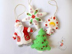 Items similar to Set of Christmas toys.Felt Christmas toys on Etsy Sewn Christmas Ornaments, Felt Christmas Decorations, Christmas Toys, Felt Ornaments, Peppa Pig Doll, Princess Toys, Teddy Bear Toys, Christmas Makes, Felt Toys