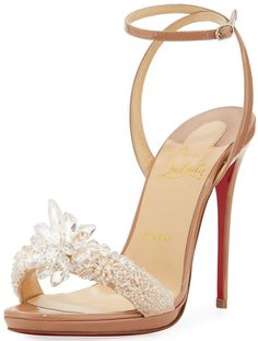 Christian Louboutin 'Crystal Queen' Embellished Sandals