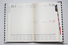 Kalendarz 2016 'paski' - Pracownia-tworcza - Kalendarze A5