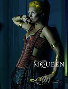 awesome First Look | Kate Moss by Steven Klein for Alexander McQueen S/S 2014  [Campaign]