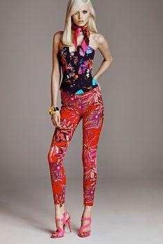 Abbey Lee, abbey lee kershaw, Fashion, Fashion Model, Model, Versace, Lookbook, blonde, hair, magazine, Fashion Magazine