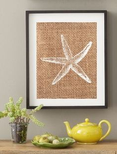 Nautical Starfish Print / 8x10 / Poster Wall Art / by LiveAtHome, $14.95
