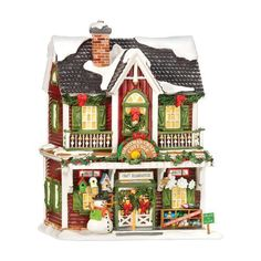 Department 56 Snow Village Christmas Crafts Cottage