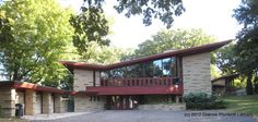 Austin Vacation Rental - VRBO 469243 - 1 BR Southern House in MN, Frank Lloyd Wright Overnight Rental - the Elam House