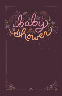 Vistaprint Baby Shower Invitation