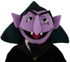 Everytime I see the count I think of Dave Chapelle. LOL
