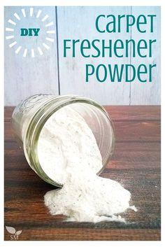 DIY Carpet Freshener Powder With Herbs - Scratch Mommy