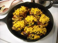 Mommy's Kitchen - Old Fashioned & Country Style Cooking: BBQ Cheesy Chicken Aka Chili's Monterey Chicken, So GOOD.