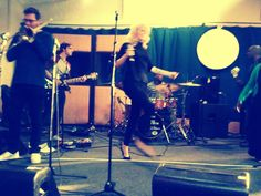 rehearsals with the band! Cali, Drums, Music Instruments, Concert, Musical Instruments, Drum Sets, Drum, Concerts, Drum Kit