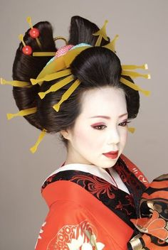 Les 10 meilleures images de Coiffure et Mode Geisha