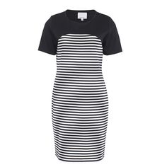 Now In Store! - Selma B.young dress - Eden Boutique Edinburgh - This is such a versatile piece and be worn in several different ways -dressed up or down is up to you. Spring Summer 2015, Edinburgh, Navy And White, Dress Up, Short Sleeve Dresses, Stripes, Boutique, Store, How To Wear